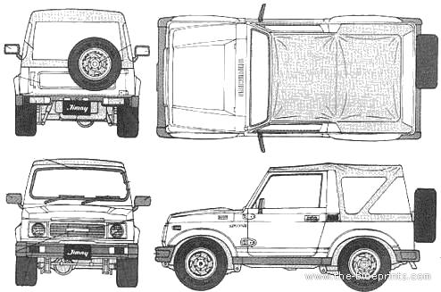 #cartooncars hashtag on Twitter  |Cartoon Suzuki Samurai
